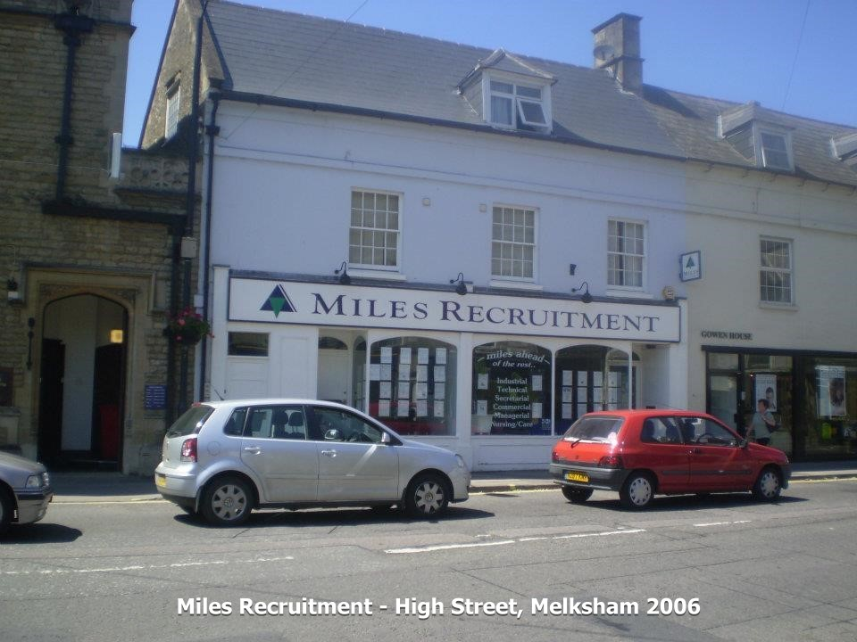 Miles Recruitment, 3 High Street, Melksham